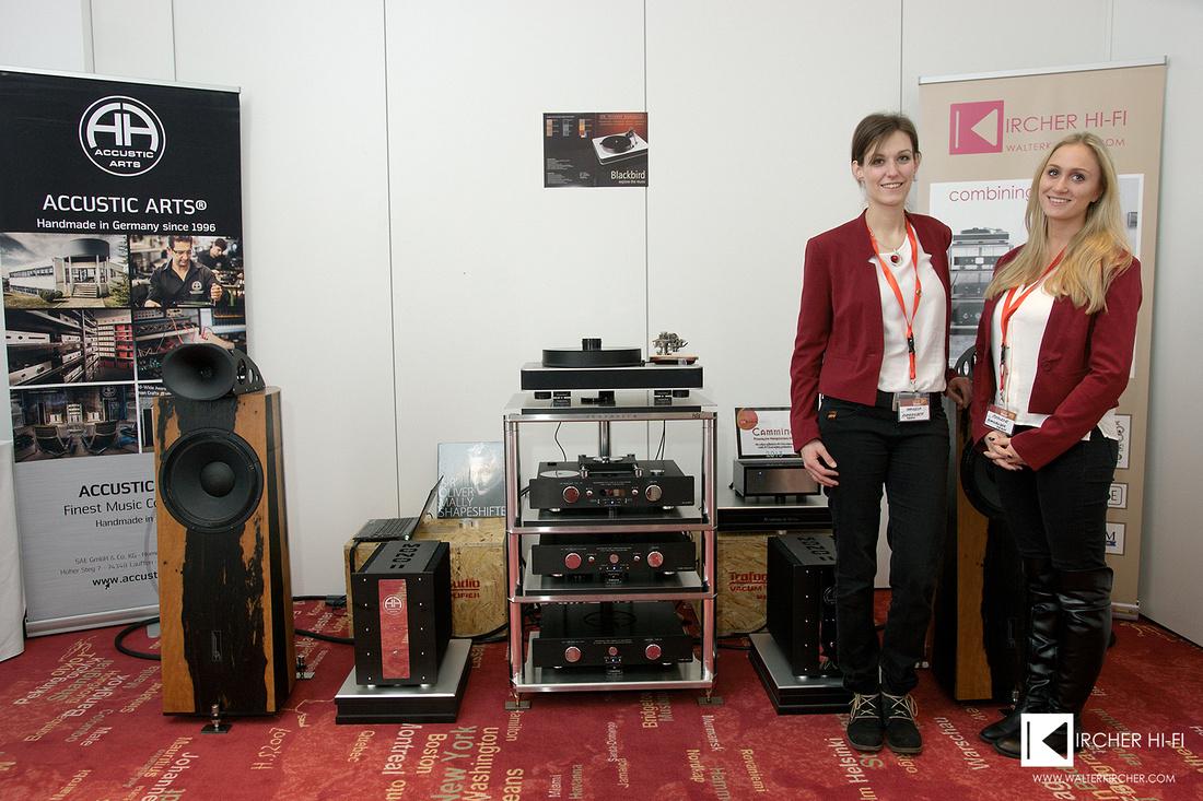 Klangbilder 2015 - again at the Austrian high-end audio show