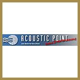 Acoustic Point Logo 166