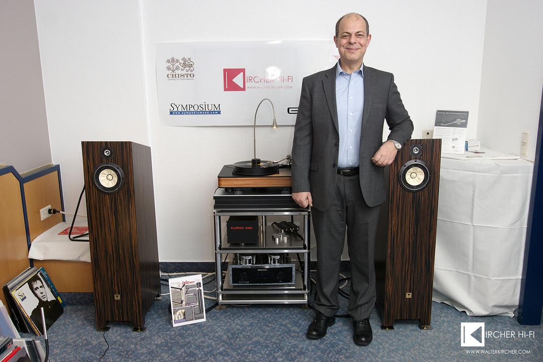 Manolis Proestakis, Mastermind of Tune Audio speakers