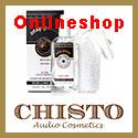Chisto Audio Cosmetics onlineshop Logo 125