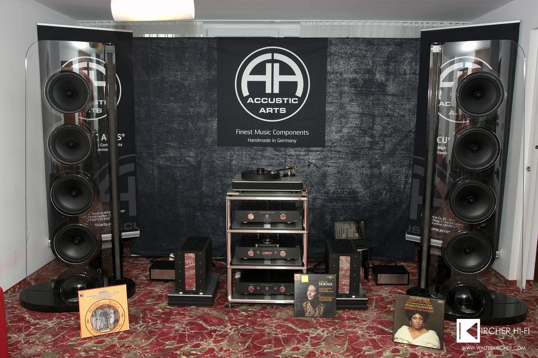 complete Accustic Arts / SoulSonic Impulse SE speakers setup