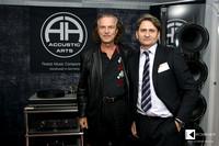 Hans Theessink with Yuri Zamazeev (CEO of Chisto)