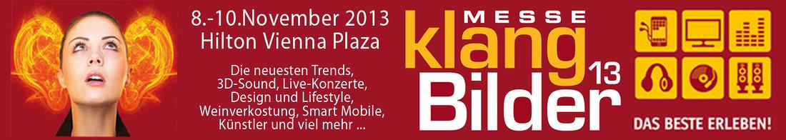 Klangbilder 2013 high-end show in Vienna - Hilton Vienna Plaza