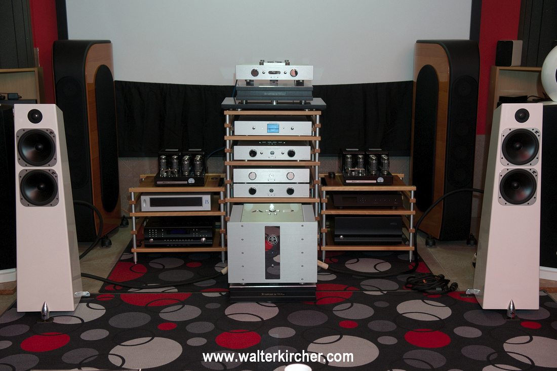 Hanzelaudio, Komarno: fuel Accustic arts reference setup with Totem Element Metal speakers