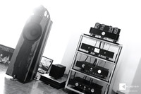 my current setup say Welcome to Trafomatic EOS tube power amplifier