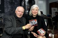 "Ulrike Fendel and Richard Winter presenting the CD ""Piano Preludes of 20th and 21th century"""