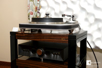 Spiral Groove SG1.1 turntable on top