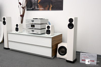 Totem Acoustic at the High End 2015 in Munich - White rules.