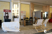 Our combined booth with Chisto, Blumenhofer Acoustics, ProJect Audio washing machine...