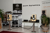 Pure Dynamcis Keramix loudspeaker with Accustic Arts Player ES and Power ES electronics