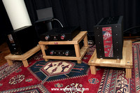 Accustic Arts reference electronics: TUBE DAC II MK2 with USB async., TUBE PREAMP II MK2, MONO II