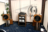 Dr. Feickert Analogue 2016 again with Musiklektronik Geithain speakers
