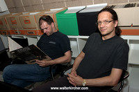 Peter Url and DI Georg Ruppert, the 2 masterminds behind the PureGroove turntables!