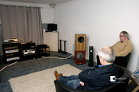 Joachim Gerhard demonstrated his speakers and used good music for that purpose.