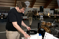 Michael Holzingerdemonstrated how to wash a record in specific workshops