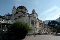 Merano, South Tyrol - Kurhaus of Meran (Meran became a popular spa resort due to the frequent visits of Empress Elisabeth of Austria)