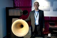 Manolis Proestakis, mastermind of Greek Tune Audio hornspeakers