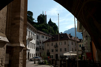Merano, South Tyrol - St. Nicholas' Church (first mentioned in 1220)