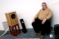 Joachim Gerhard, mastermind of Suesskind Audio speakers