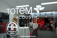 room F206 - a cooperation of Accustic Arts Germany and Totem Acoustic (Swiss High-End Company AG as distributor of Totem Acoustic, JMC, TM Flash)