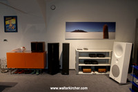 first showroom for smaller systems with brands as Avantgarde Acoustic, Sonus Faber, Hegel, Unison Research...