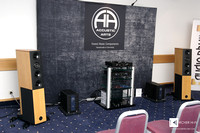 Accustic Arts and Audio Physic - the big setup for Hamburg
