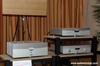 YBA Passion range: CD Transport 450 (€ 3749,-), Pre Amplifier 550 incl. DAC (€ 6629,-) and Power Amplifier 650 (€ 5319,-)