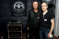 Hans Theesink with Miro Krajnc (owner of SoulSonic D.O.O.)