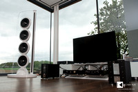 private owner setup: SoulSonic Impulse SE flagship speakers with complete Accustic Arts reference electronics