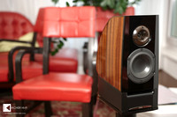Klangbilder 2014: small Kiso Acoustic HB-X1 speakers (retail price EUR 17000,- a pair)