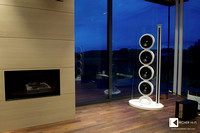 private owner setup: SoulSonic Impulse SE flagship speakers with Accustic Arts MONO II amp