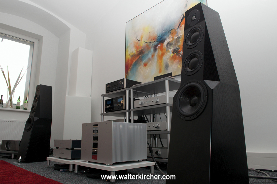 Sambs Hifi Linz with Totem Acoustic Wind Accustic Arts