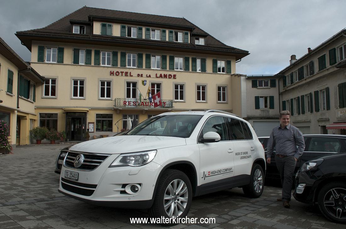 Hotel De La Lande, Le Brassus, Switzerland - JMC Soundboard
