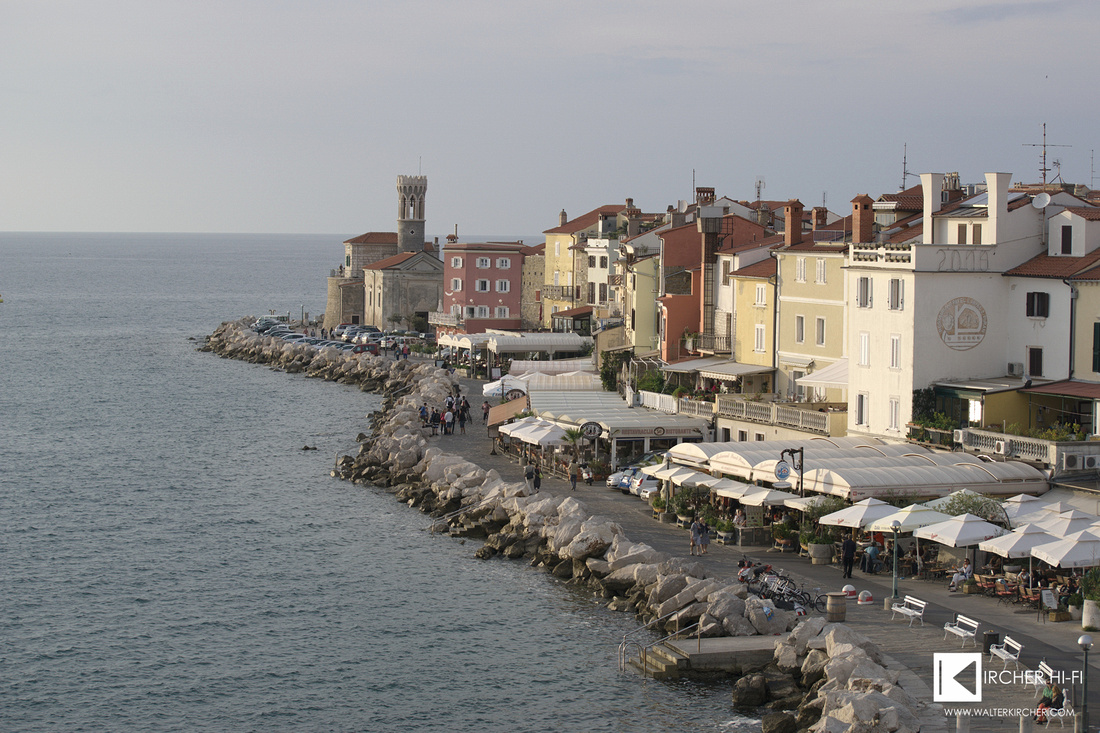 impressions in Piran before sunset