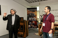 Fone Audio's Cesare Ricci made daily demos in Blumenhofer Acoustics showroom