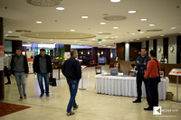 entry - the lobby of Crowne Plaza hotel in Bratislava
