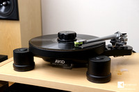 step one: AVID HIFI DIVA II SP record player