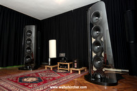 SoulSonic Impulse SE flagship loudspeaker, driven by Accustic Arts reference electronics