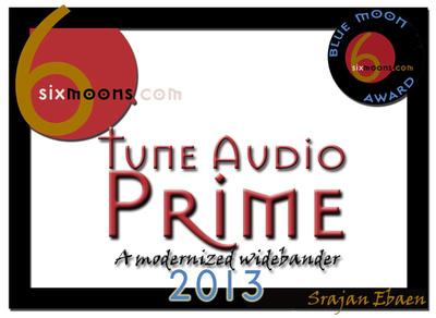 Tune Audio Prime Blue Moon Award auf 6moons.com