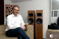 Conrad Mas, founder and owner of AVID HIFI again in Vienna