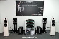 HIGH END 2014 Munich -  big setup: Totem Acoustic Element Metal and Fire speakers with Accustic Arts reference electronics (DRIVE II, TUBE DAC II MK2, TUBE PREAMP II MK2 and MONO II, all cables)