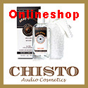 Chisto Audio Cosmetics onlineshop Logo 125