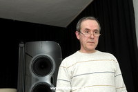 Miro Krajnc, the mastermind of SoulSonic Speakers - with Impulse SE flagship speaker
