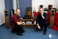Claudio Trevasinello (Cammino) and Igor Opassi (Tafos Audio / Multimedia)