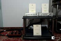 Klangbilder 2014: FM Acoustics Resolution Series 133 Harmonic Line Level Linearizer and 155 Precision preamplifier