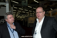 Michael Fischer and Norbert Maes, Accustic Arts sales team Germany