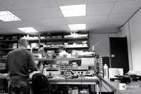 production and testing rooms in AVID HIFI factory